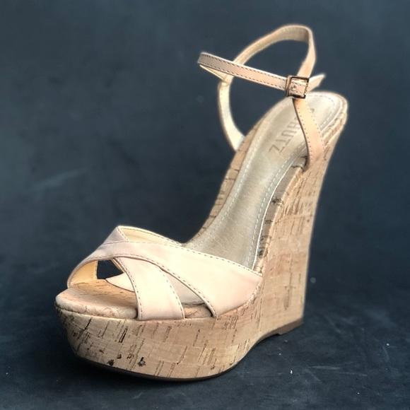 2ce58543bdb0f SCHUTZ cork wedge sandals. M_5c5cd6869539f78d71b1f691